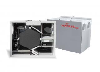 Rekuperatory VENTILUS 390 SE HR /390 SE HR Q1 (150-220m²) - Rekuperator VENTILUS 390 SE HR Q1